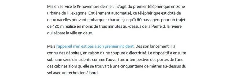 Téléphérique Boulogne-Billancourt (Pont de Sèvres) - Vélizy Clipb231