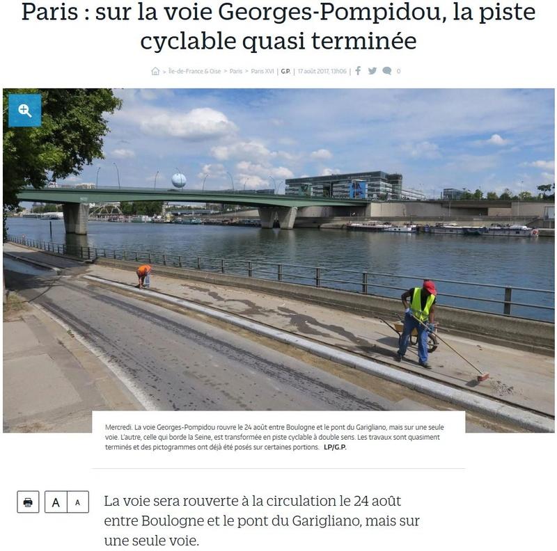 Aménagement et usages des voies sur berges à Paris Clipb233