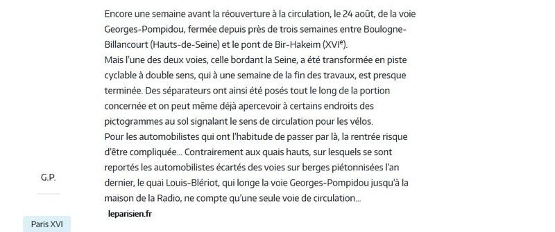 Aménagement et usages des voies sur berges à Paris Clipb234