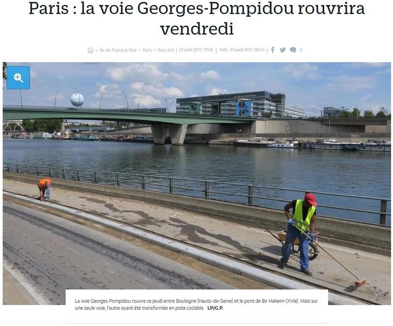 Aménagement et usages des voies sur berges à Paris Clipb245