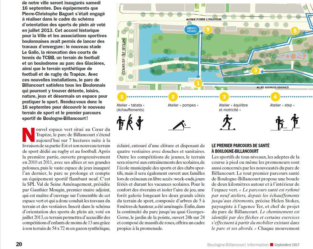 Parcours santé Parc de Billancourt Clipb311