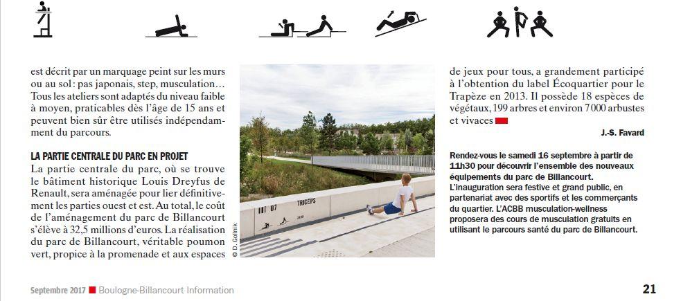 Parcours santé Parc de Billancourt Clipb313