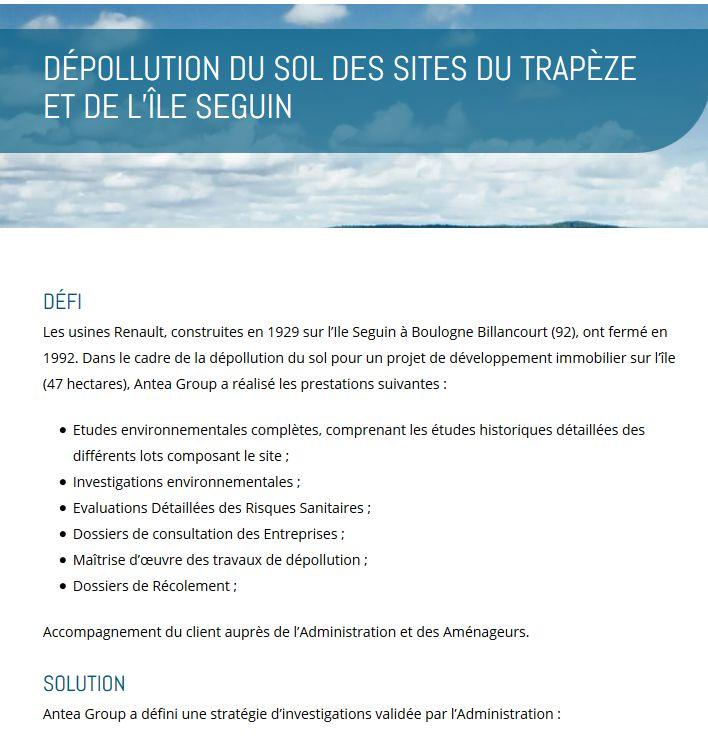 Dépollution des terrains du trapèze Clipb409