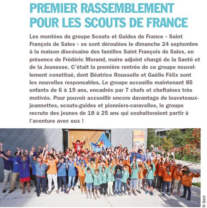 Evènements proposés par la Maison Saint François de Sales Clipb456