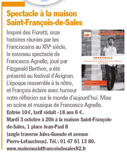 Evènements proposés par la Maison Saint François de Sales Clipb465