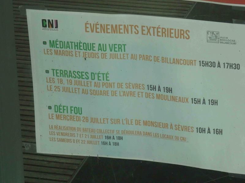 Centre Ludique de Boulogne-Billancourt (CLuBB) - Page 2 Dsc02713