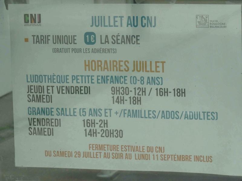 Centre Ludique de Boulogne-Billancourt (CLuBB) - Page 2 Dsc02714