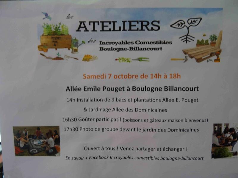 Incroyables Comestibles de Boulogne Billancourt  Dsc03636