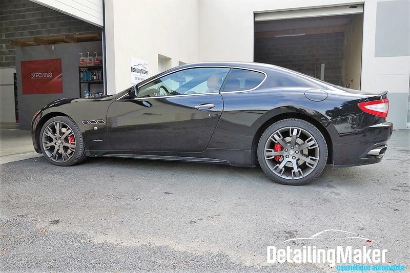 Detailing / Rénovation Maserati GranTurismo S Detail10