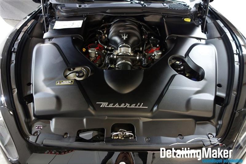 Detailing / Rénovation Maserati GranTurismo S Detail78