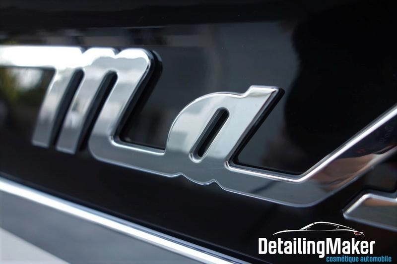 Detailing / Rénovation Maserati GranTurismo S Detail81