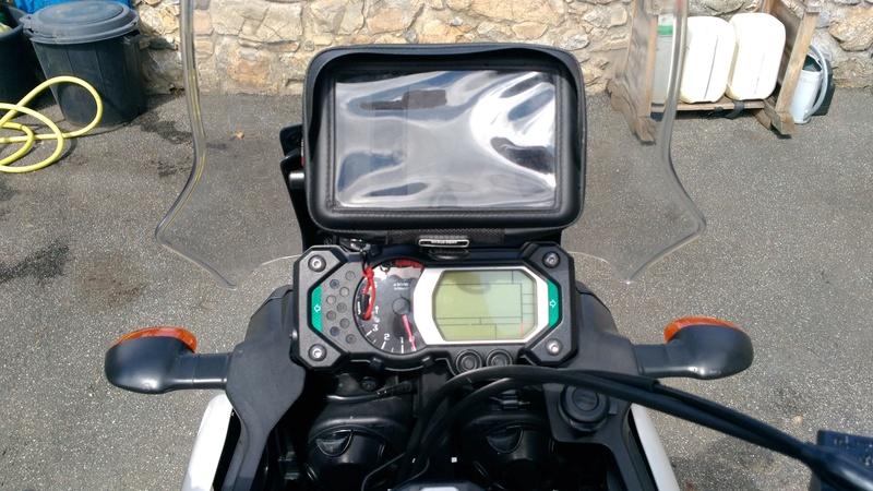 Support GPS sur compteur pour xtz de 2012 P_201715