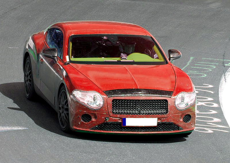 2017 - [Bentley] Continental GT - Page 3 Protot12