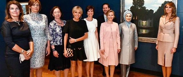 Les premiers pas officiels de Brigitte Macron en tant que première dame Image_10