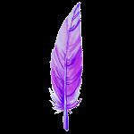 Las plumas de colores y otras señales angelicales. Pluma-11