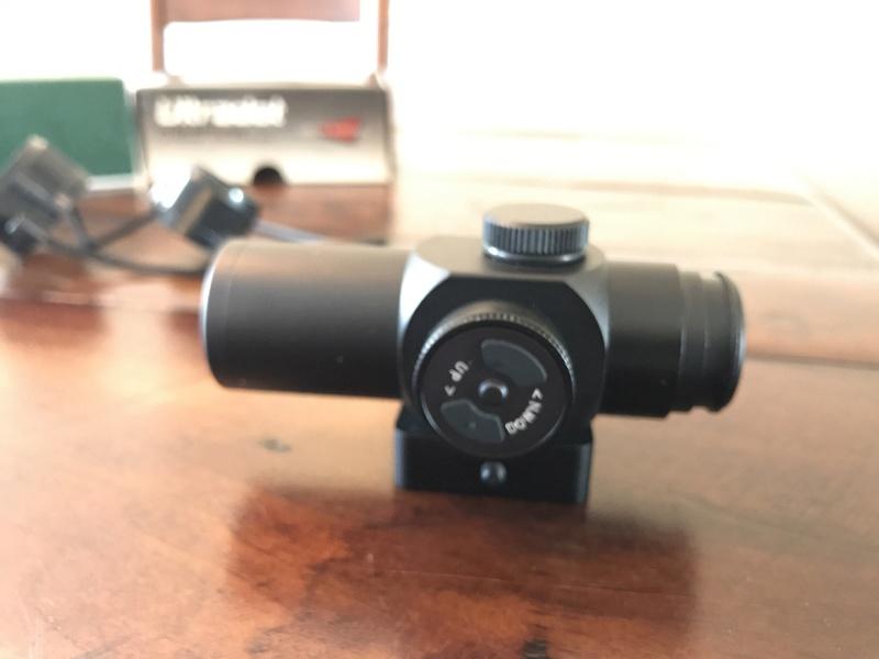 WTS: Ultra Dot HD-Micro Red Dot, hogue grips, and Eagle eye scoring gauge Img_0311