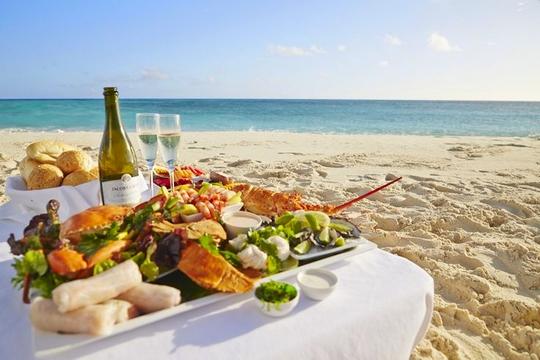 Qu'apportez-vous généralement pour dîner à la plage? Beach-11