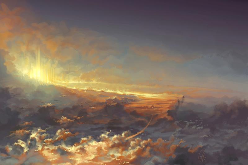 La Llegada de la Doncella de la Luz; La Muerte de la Cuarta - Página 5 Heaven10