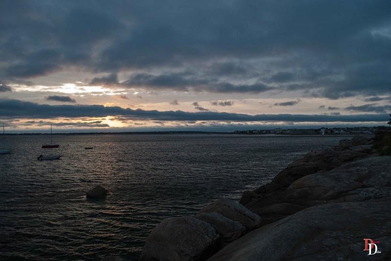 Couché de soleil sur la mer Dsc_0014