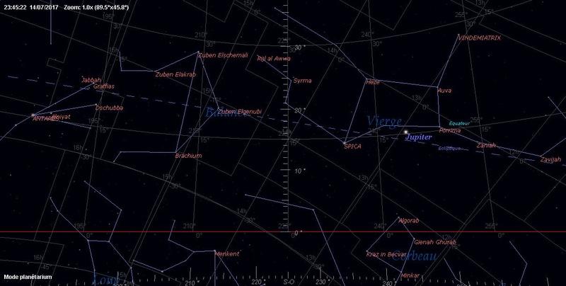 2017: le 14/07 à 23h45 - Lumière étrange dans le ciel  -  Ovnis à elven - Morbihan (dép.56) - Page 2 Ciel_q10