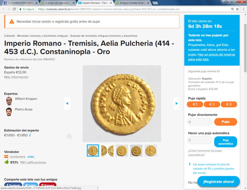 Catawiki :Áureo Nerón, dupondio Germánico, quinario Emerita, etc, etc 113