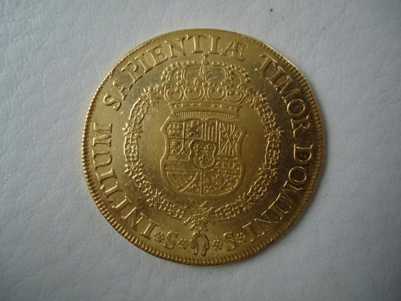 8 escudos 1729 Felipe V (pelucona). Sevilla 20265011