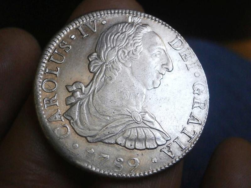 8 reales Carlos IV 1789. México 21761410