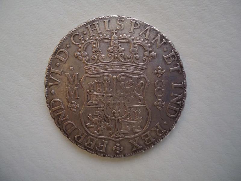 8 reales Fernando VI 1760. México 22089910