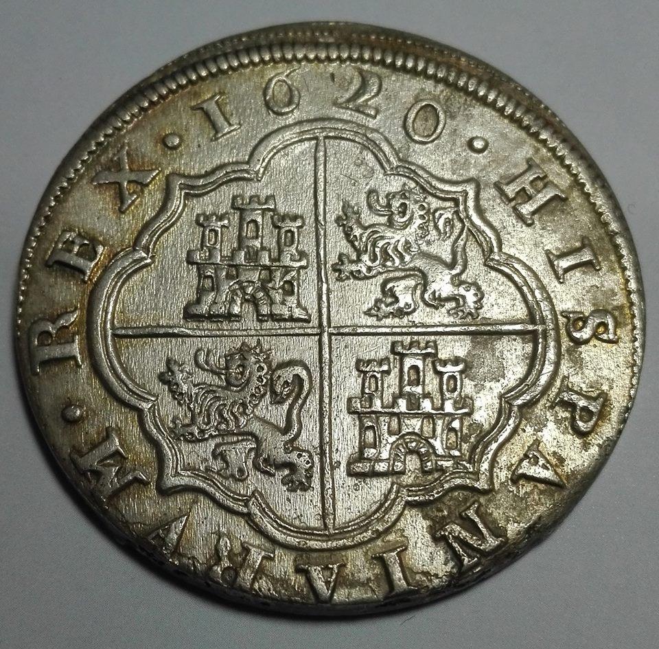 8 reales Felipe III 1620. Segovia 36064210