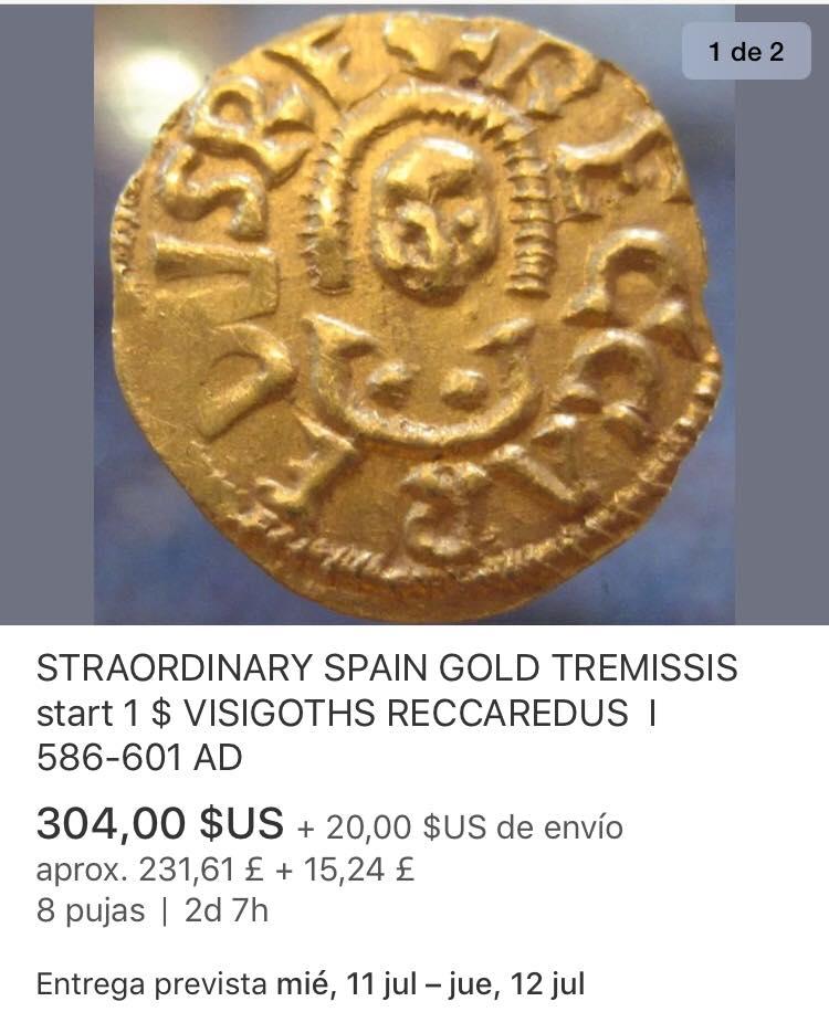 Catawiki :Áureo Nerón, dupondio Germánico, quinario Emerita, etc, etc 36620610