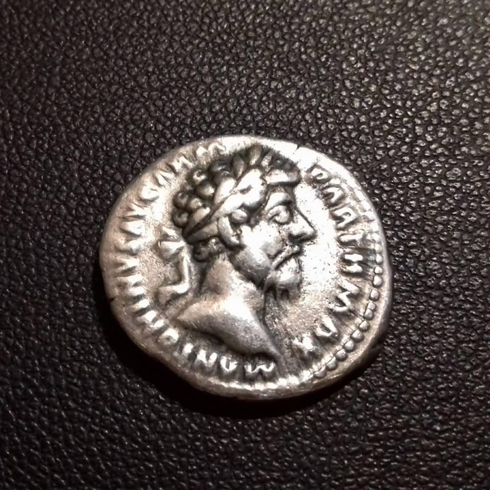 Denario Marco Aurelio - TR P XXI IMP IIII COS III - Providentia 37336410