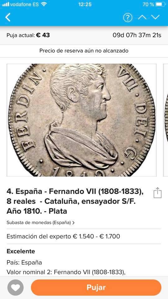 Catawiki :Áureo Nerón, dupondio Germánico, quinario Emerita, etc, etc 39394510