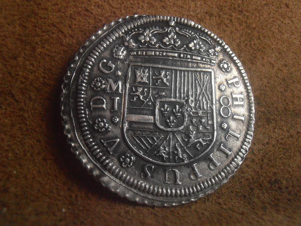 8 reales Felipe V 1713. Madrid 43828310