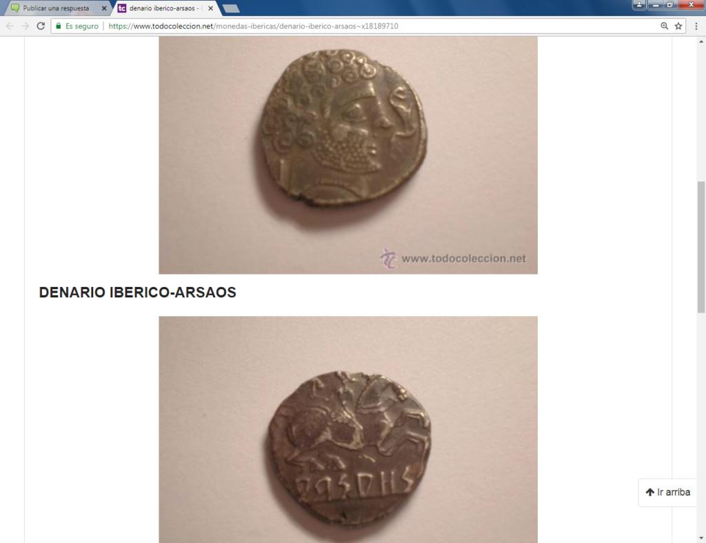 Subastas Jesús Vico 7/11/13, Aureo 3/6/15, José A.Herrero 16/10/03 :denario Arsaos Arsaos10