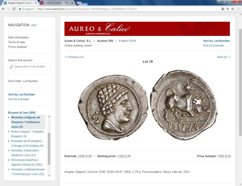 Monedas locas de remate Arse10