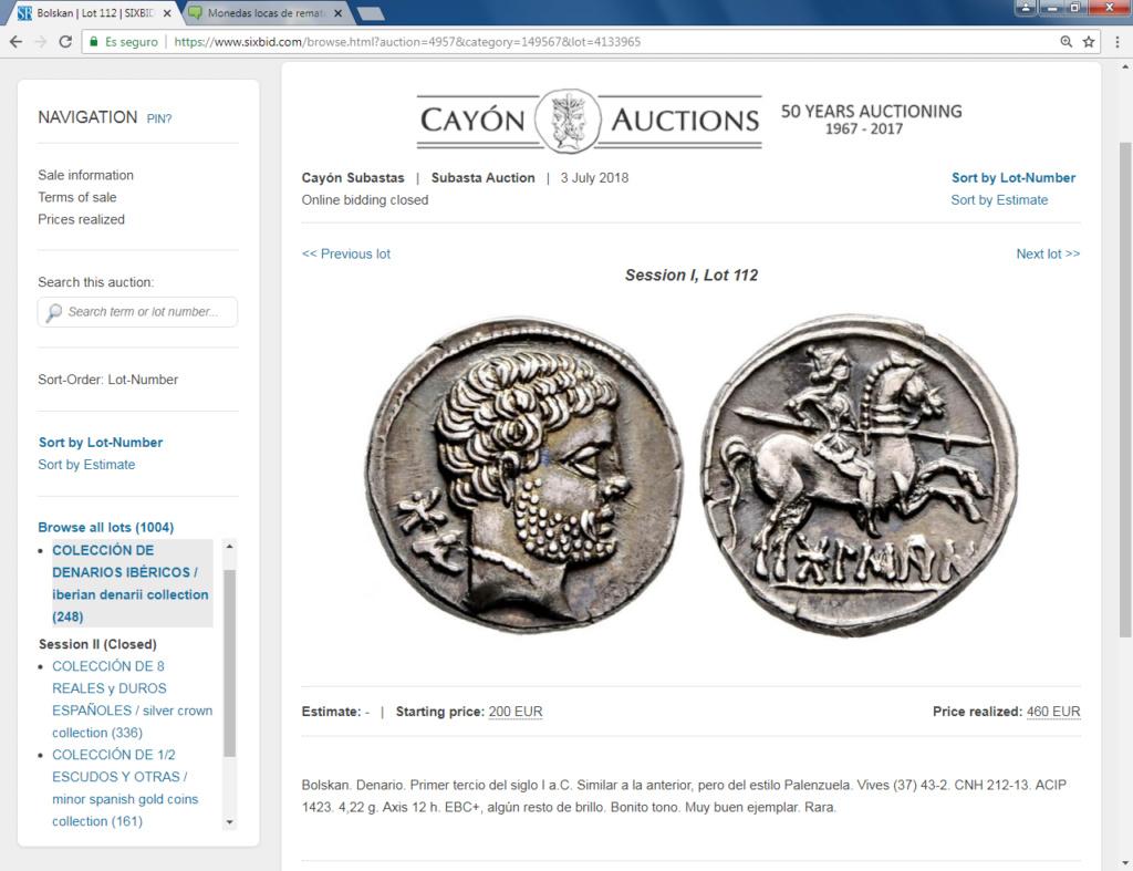 Monedas locas de remate Bolska10