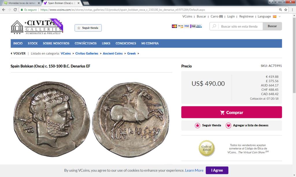 Monedas locas de remate Bolska11