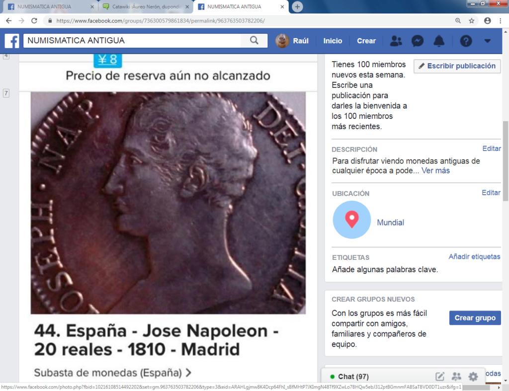 Catawiki :Áureo Nerón, dupondio Germánico, quinario Emerita, etc, etc Cacawi10