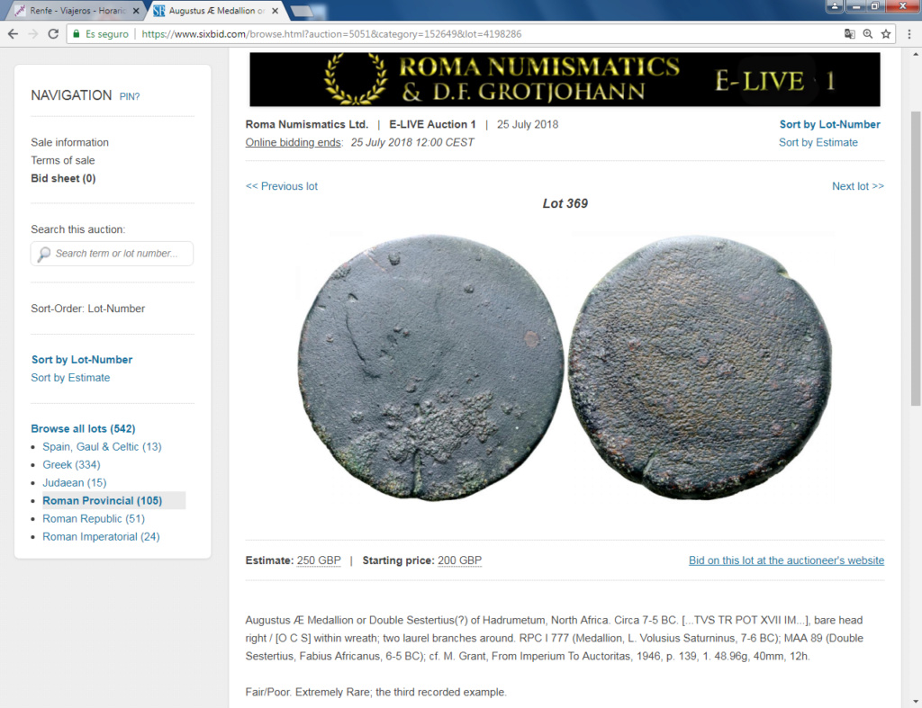 Monedas locas de remate Chapzn10
