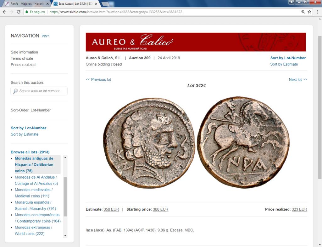 Monedas locas de remate Iaka10