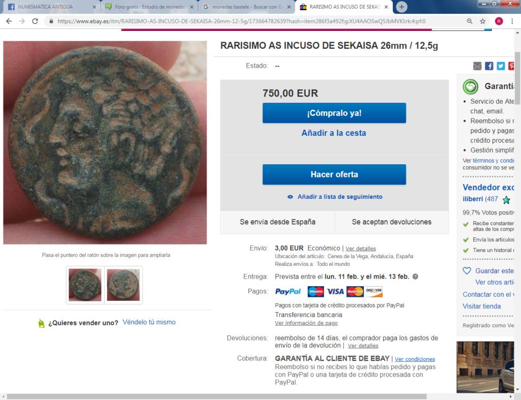 Monedas ibéricas incusas Iliber11