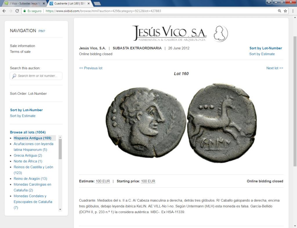 Subastas Jesús Vico 2012-2014 :falsificaciones antiguas y otras cosillas Kelin10