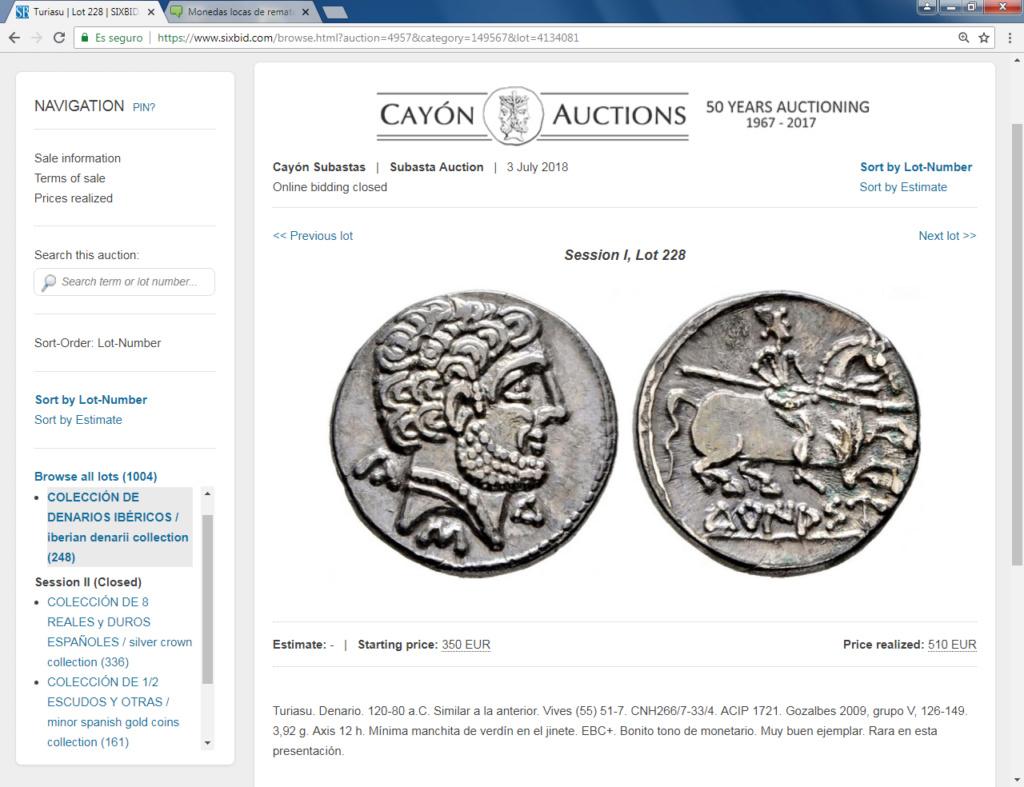 Monedas locas de remate Turias10