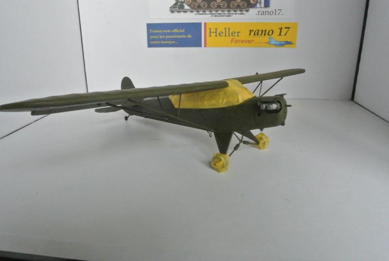 Piper Cub l-4 RAC 2E DB ( bronvo et déco JAPmodel ) 1/35 1112