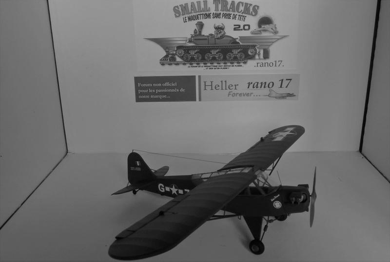 Piper Cub l-4 RAC 2E DB ( bronvo et déco JAPmodel ) 1/35 1610