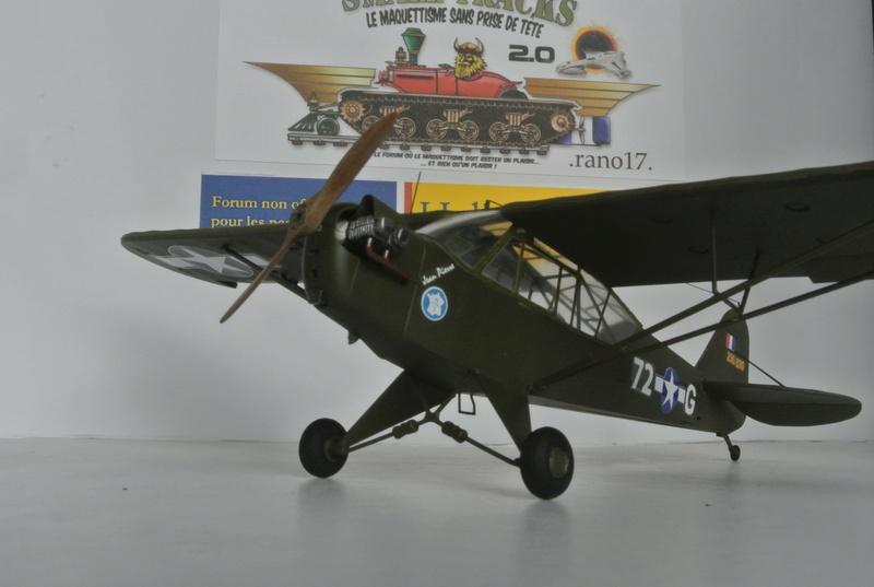 Piper Cub l-4 RAC 2E DB ( bronvo et déco JAPmodel ) 1/35 1710