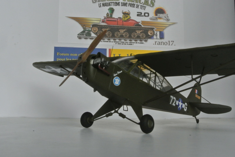 Piper Cub L-4 RAC 2E DB ( Bronco et déco JAPmodel ) 1/35 1711