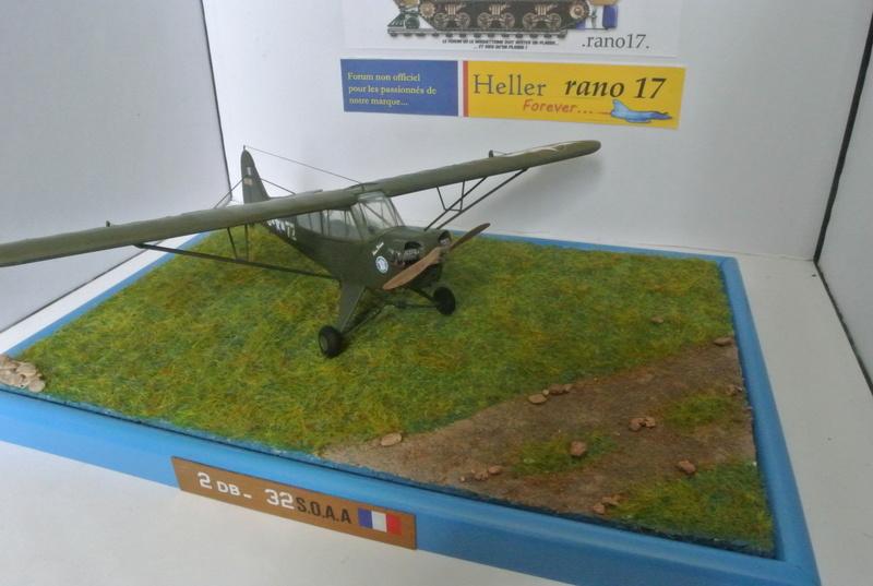 Piper Cub l-4 RAC 2E DB ( bronvo et déco JAPmodel ) 1/35 2512