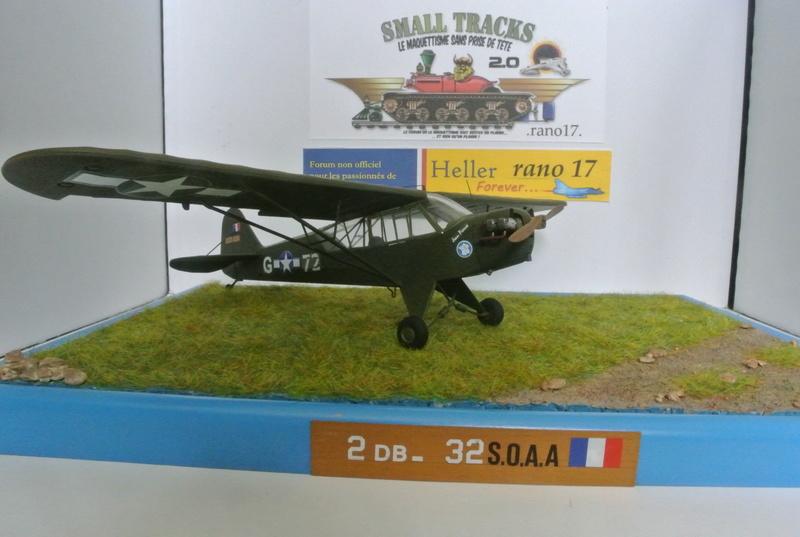 Piper Cub l-4 RAC 2E DB ( bronvo et déco JAPmodel ) 1/35 2612