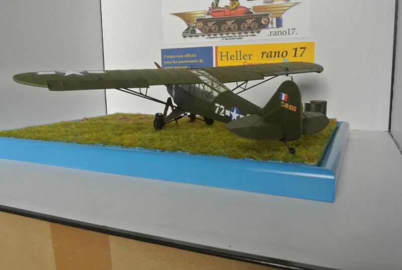 Piper Cub l-4 RAC 2E DB ( bronvo et déco JAPmodel ) 1/35 2911